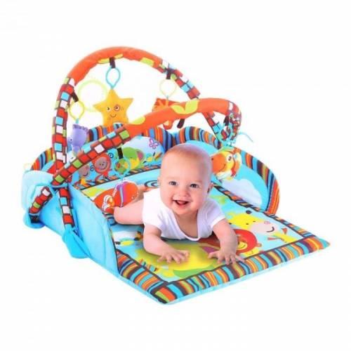 Γυμναστήριο για μωρά - Χαλάκι Δραστηριοτήτων Μπλε