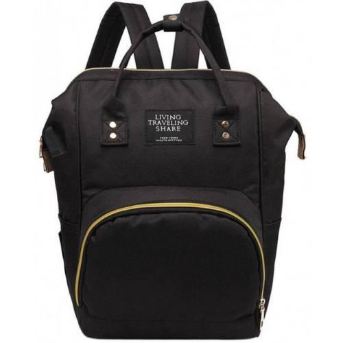 Τσάντα πλάτης μωρού μαύρη L.T.S. με USB