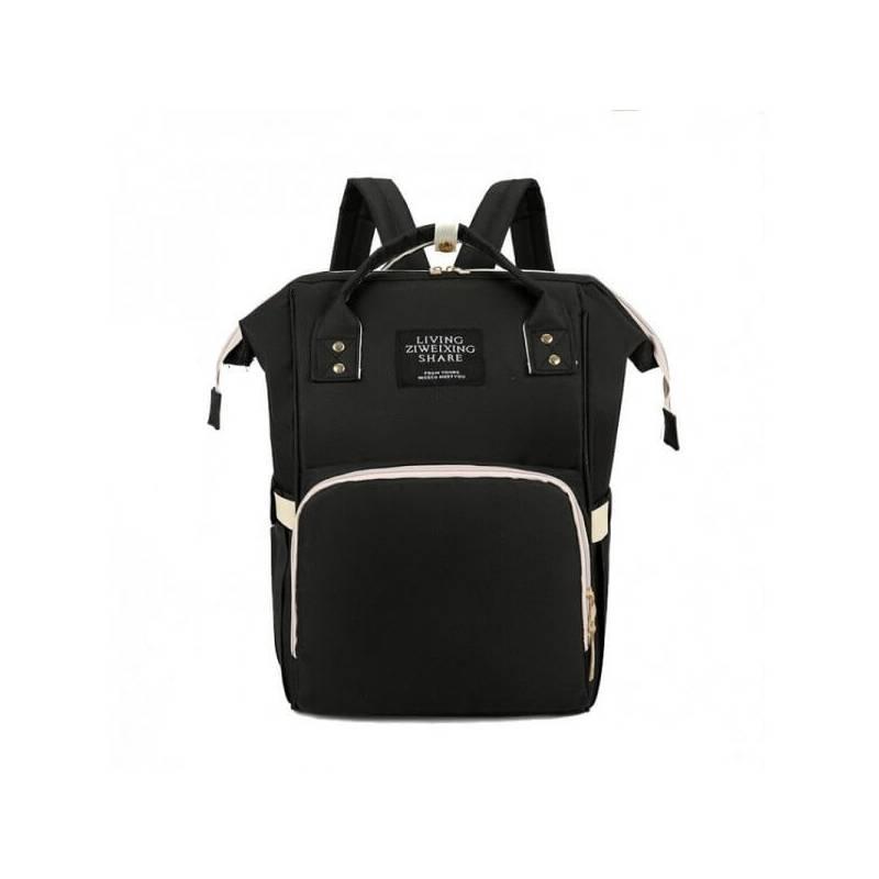Τσάντα πλάτης μωρού μαύρη LTS