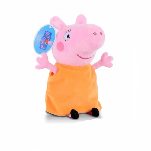 Λούτρινο peppa pig 29cm orange
