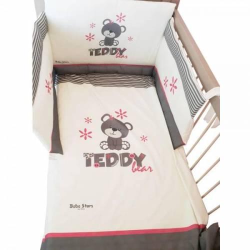 Προίκα Μωρού 4 τεμ. Teddy Flower 3010